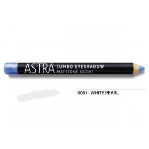 Astra Jumbo Eye Shadow No 51 - White Pearl