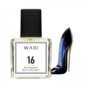 WABI PERFUME No 16 -  TYPE C.H. GOOD GIRL 50ML
