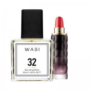 WABI PERFUME No 32 -  TYPE YES I AM CACHAREL 50ML