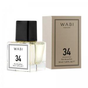 WABI PERFUME No 34 -  TYPE ARMANI SI 50ML