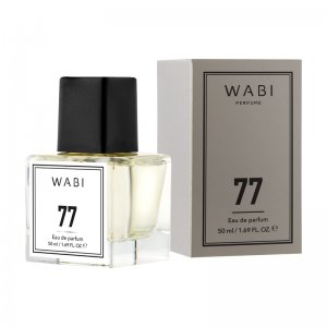 WABI PERFUME No 77 -  TYPE INVICTUS PACO RABANNE 50ML