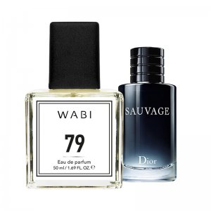 WABI PERFUME No 79 -  TYPE DIOR - SAUVAGE 50ML