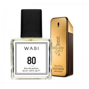 WABI PERFUME No 80 -  TYPE ONE MILLION MAN 50ML