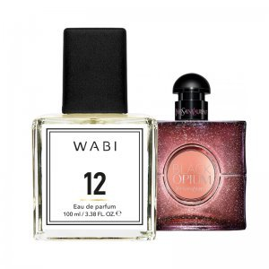 WABI PERFUME No 12 -  TYPE YSL BLACK OPIUM 100ML