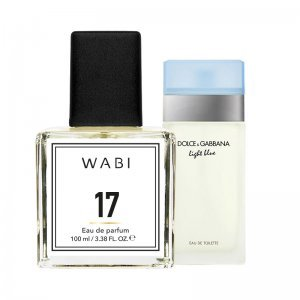 WABI PERFUME No 17 -  TYPE D&G LIGHT BLUE 100ML