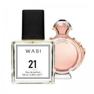 WABI PERFUME No 21 -  TYPE PACO RABANNE OLYMPEA 100ML