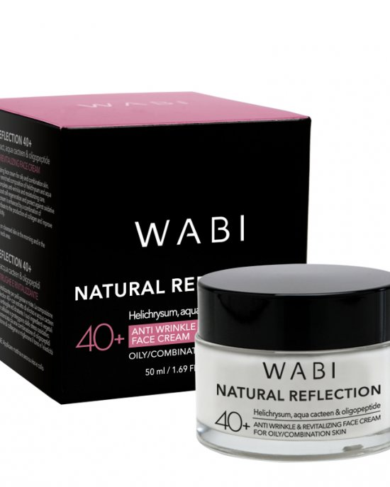 WABI Natural Reflection Face Cream - Oily/Combination Skin 40+