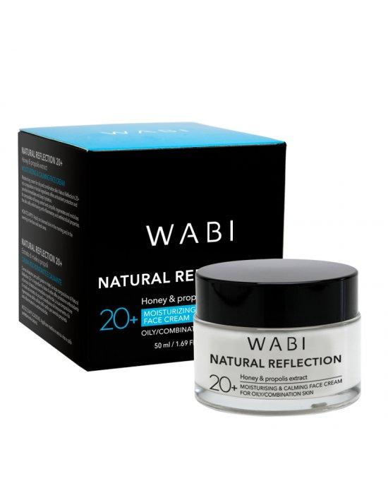 WABI Natural Reflection Face Cream - Oily/Combination Skin 20+