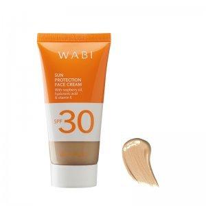 WABI SUN PROTECTION TINTED FACE CREAM GOLDEN TAN SPF 30