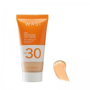 WABI SUN PROTECTION TINTED FACE CREAM SANDY COPPER SPF 30