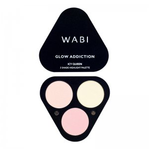 WABI 3 Shade Highlighter Palette - Icy Queen