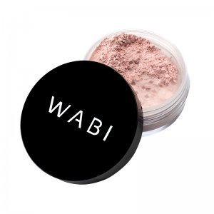 WABI Define Perfection Shimmering Loose Powder - Rose
