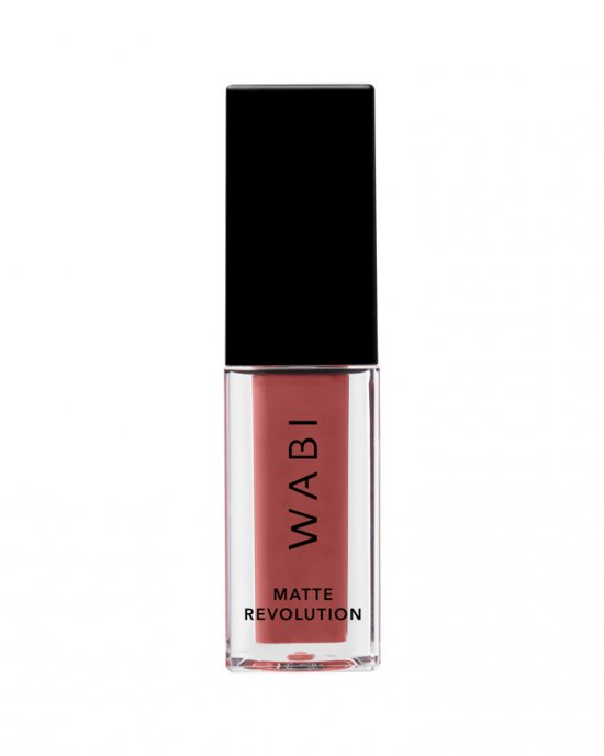 WABI Matte Revolution Liquid Lipstick - Orange Rum