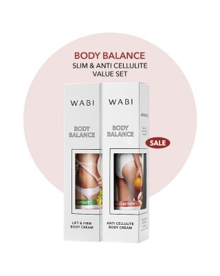 WABI SET - FAT BURNING AND ANTI-CELLULITE CREAM